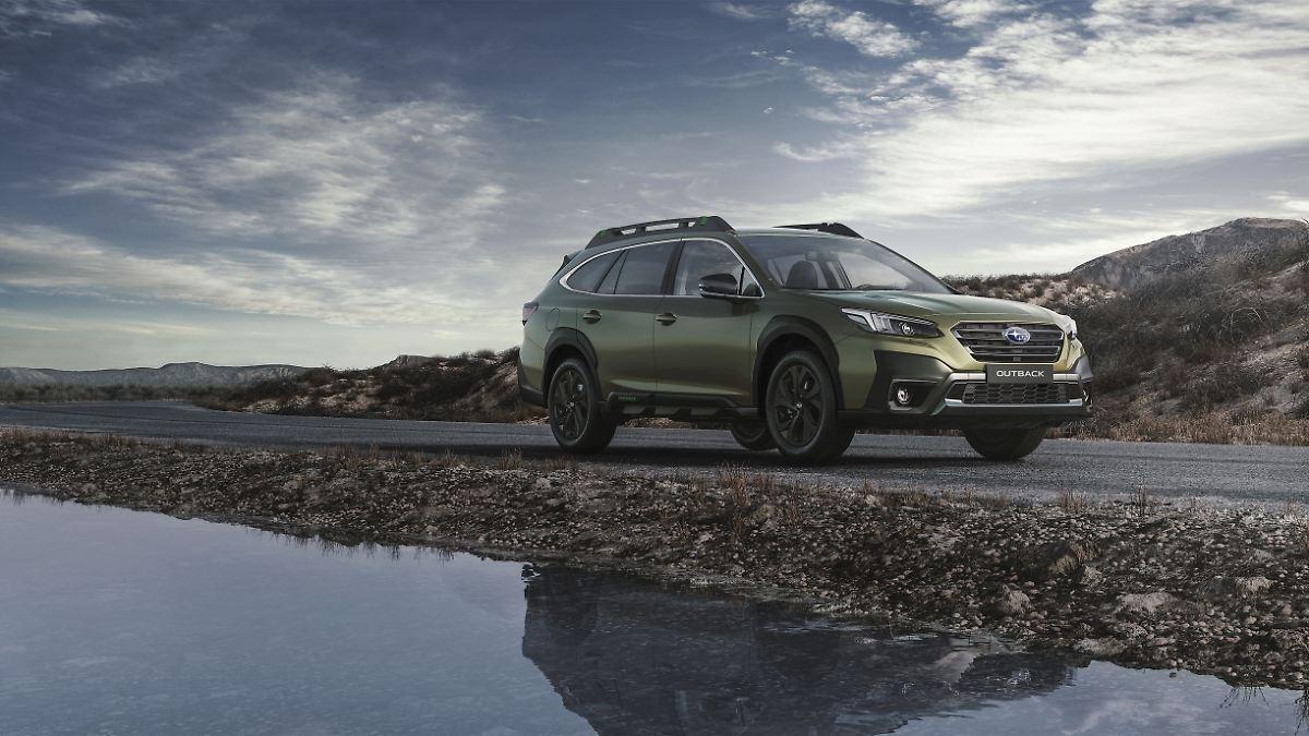 Start für neuen Offroad-Kombi:Subaru Outback - nicht ganz der Alte - n-tv NACHRICHTEN