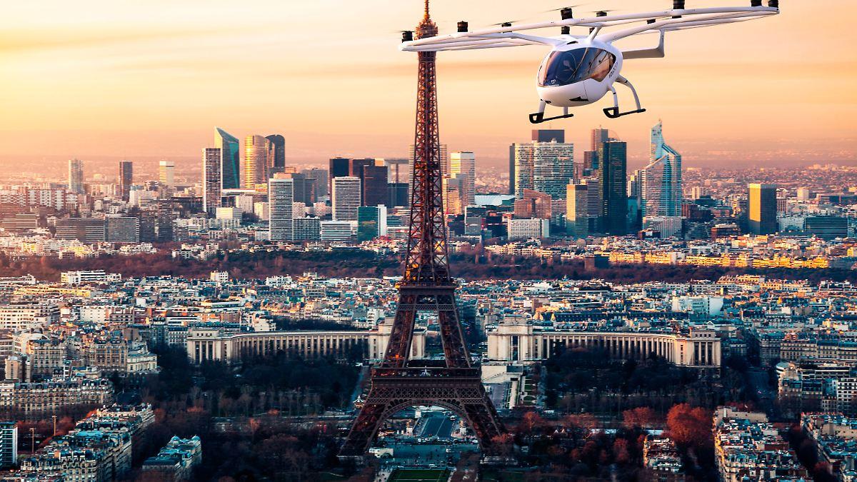 Neuer prominenter Geldgeber :Volocopter sammelt 200 Millionen Euro ein - n-tv NACHRICHTEN