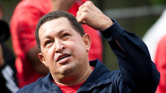 Venezuelas Präsident Hugo Chávez.
