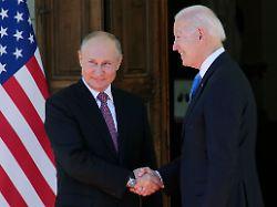 Biden und Putin in Genf: Ist das die