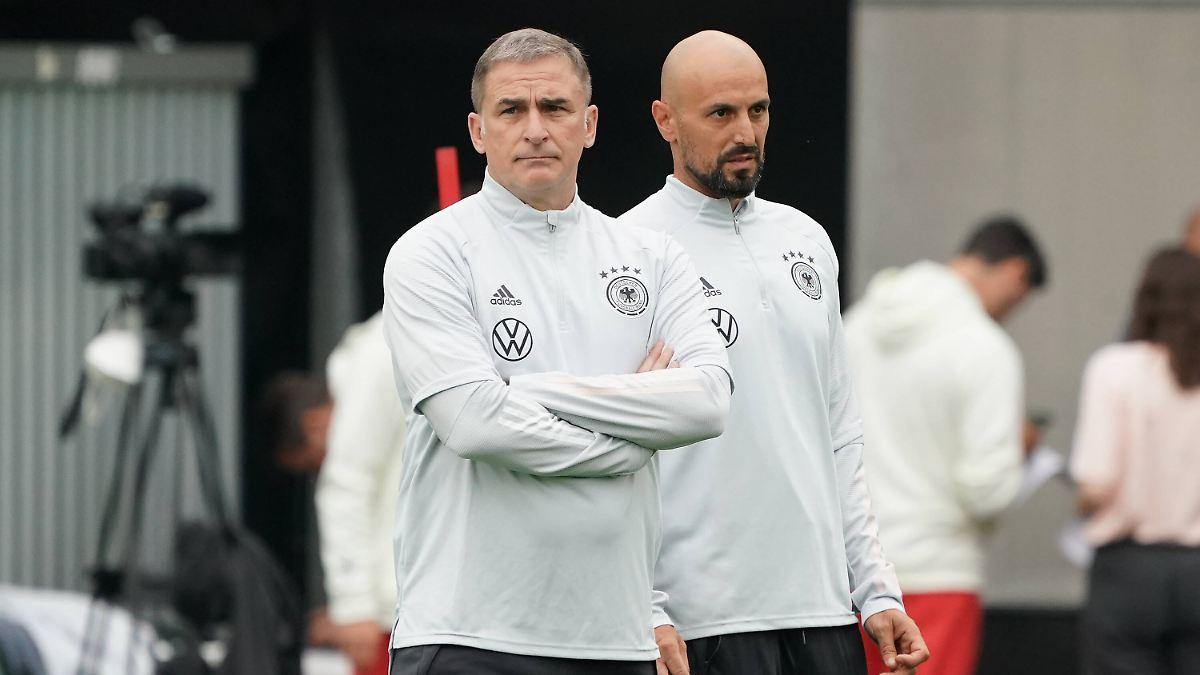 Жесткий немецкий футбольный тренер