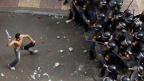 Nach Selbstmordanschlag: Wut und Gewalt in Alexandria