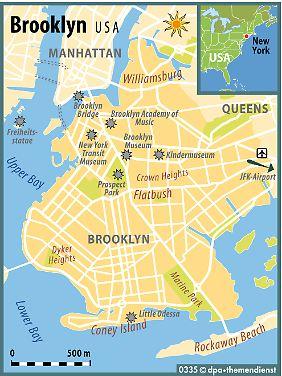 Günstiger als Manhattan, aber nah dran: Brooklyn hat Touristen einiges zu bieten - auch eine Reihe eigener Sehenswürdigkeiten.