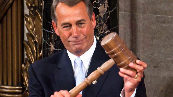 """""""Wir können uns nicht weiter verschulden"""": Boehner sagt Obama den Kampf an"""