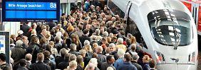 Flucht in die Komfort-Zone: Wenn die Bahn voll ist