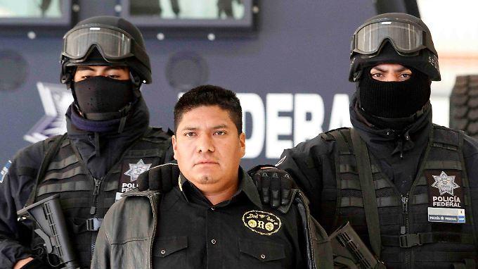 Méndez ist einer der Bosse der Los Zetas.