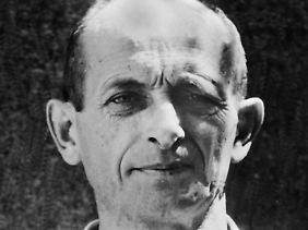 Eichmann 1960 nach seiner Gefangennahme durch den israelischen Geheimdienst.