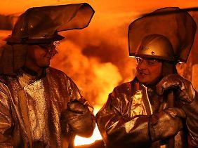 Auch in der Metallbranche werden viele Leiharbeiter eingesetzt.