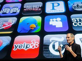 Apple-Gründer Steve Jobs.