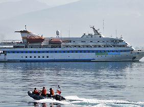 Bei der Erstürmung der Marmara wurden neun Türken getötet.