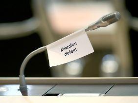 Das könnte bald Realität sein auf Bühnen, in Kirchen und im Bundestag.