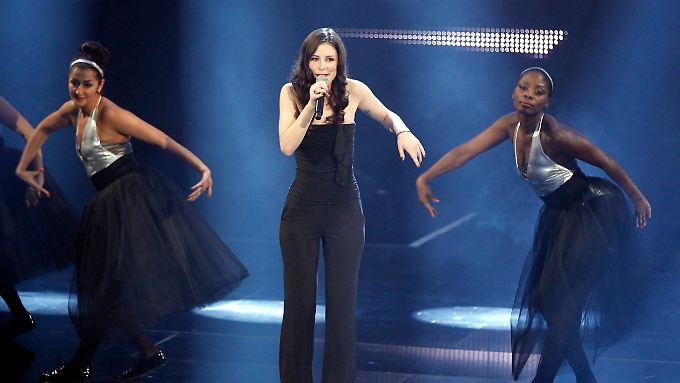 Da singt sie wieder: Lena präsentierte ihre ersten sechs Songs für Düsseldorf.