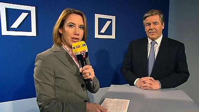 Josef Ackermann bei n-tv: Die Pläne der Deutschen Bank