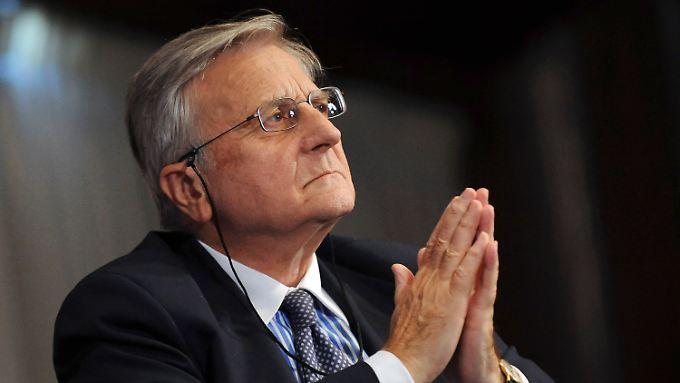 Grund für übereilte Gegenmaßnahmen bestehe derzeit nicht, sagt Notenbankchef Jean-Claude Trichet.