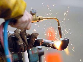 Mit den Zeitarbeitern bleibt die Wirtschaft flexibel.