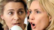 Erfolgreich, hübsch und unerbittlich: Duell von der Leyen gegen Schwesig