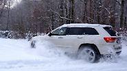 Jeep Grand Cherokee: Durch den Schnee mit dem Indianer