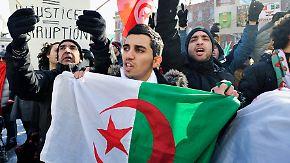 Proteste auch in Algerien und im Jemen: Westerwelle verspricht Tunesien Hilfe