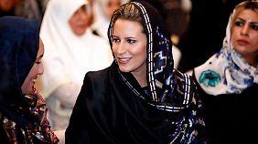 Aisha Gaddafi wurde eine Affäre mit Silvio Berlusconi nachgesagt.