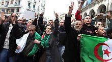 Am Wochenende waren die Menschen gegen das Regime auf die Straße gegangen.