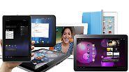 Die besten Tablet-Rechner im Vergleich: iPad 2 besser als die Konkurrenz?
