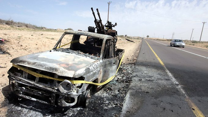 Video: Gaddafi bombardiert sein eigenes Volk