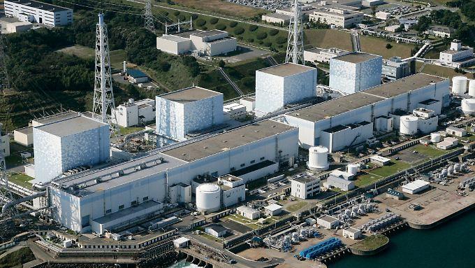 Das Atomkraftwerk Fukushima im Nordosten Japans.