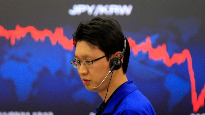 Erdbeben auch an den Börsen Thema: Der Nikkei verliert