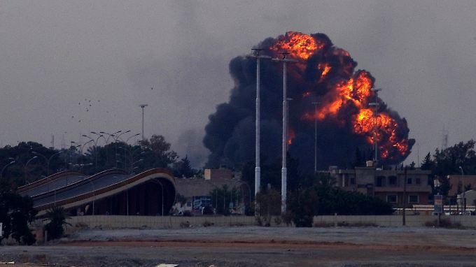 Feuerpause nur Taktik?: Kämpfe in Libyen gehen offenbar weiter