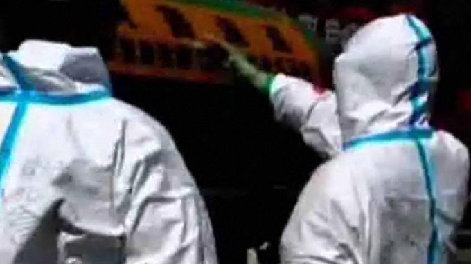 Stabilisiert sich die Lage?: Militärvideo zeigt Fukushima-Einsatz