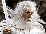 """Ian McKellen wird in """"Der Hobbit"""" wieder den Zauberer Gandalf spielen."""