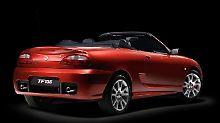 Der zweisitzige Roadster TF soll in zwei Jahren einen Nachfolger bekommen.