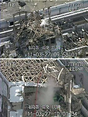 ... und an Reaktor 3 und 4.