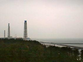 Die havarierten Reaktoren von Fukushima 1 werden dauernd von Webcams überwacht.
