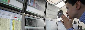 Nikkei schließt im Minus: Dax schrumpft zur Wochenmitte erneut