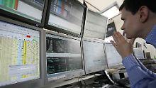 Sorgen um die Konjunktur: Börsianer peilen Dax-Jahreshoch an