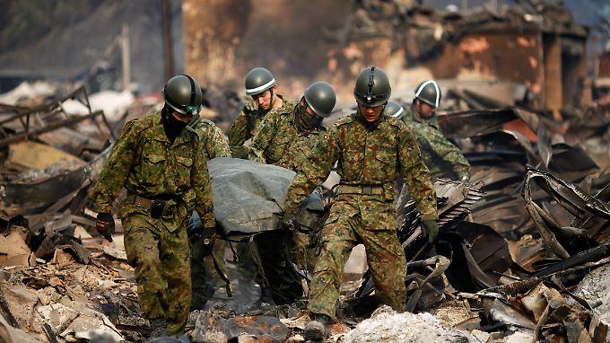 Noch immer mehr als 15.000 Vermisste: Leck im AKW Fukushima weiter undicht