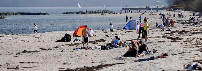 Aber Urlaub an der Ostsee ist nach wie vor enorm beliebt.