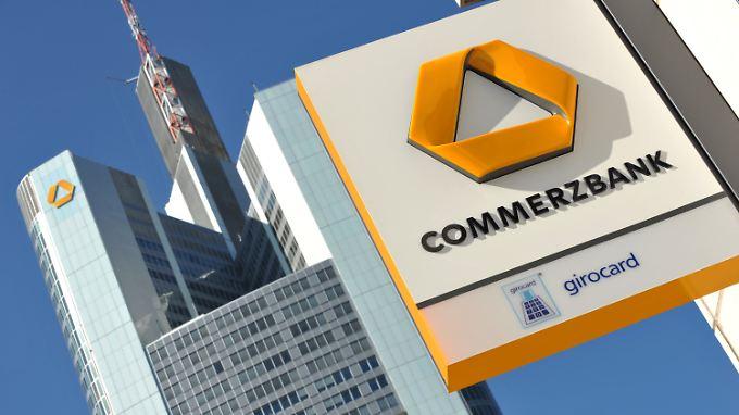 Riesige Kapitallücke bei der Commerzbank.