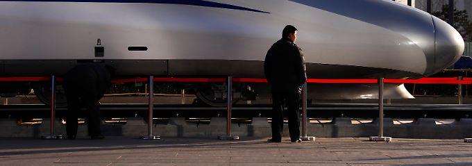 Die Musik spielt im Bahn-Business schon jetzt in China: Zum 7. Schnellbahn-Weltkongress im vergangenen Dezember mussten Bahn-Manager erstmal Europa verlassen und nach Peking reisen.