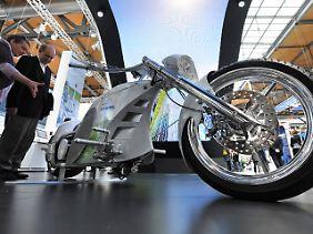 Die Macht des Möglichen: Elektro-Motorrad von Siemens.