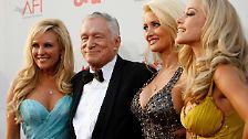 Playboy for life: Hugh Hefner wird 85