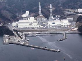 Das AKW Onagawa in der Präfektur Miyagi ist durch das Beben beschädigt.