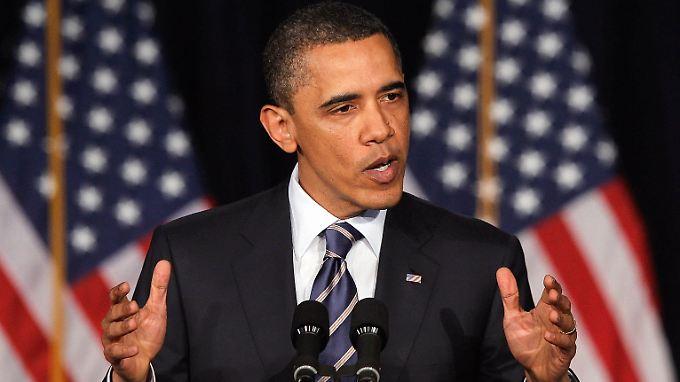 Obama: Jeder soll zum Sparziel beitragen, die Reichen etwas mehr.