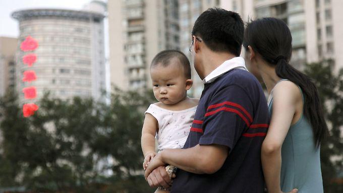 """""""Ein-Kind-Politik"""" in China: Folgen werden immer deutlicher"""