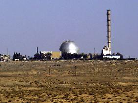 In der streng abgeriegelten Atomanlage Dimona in der israelischen Negev-Wüste soll Stuxnet entwickelt worden sein.