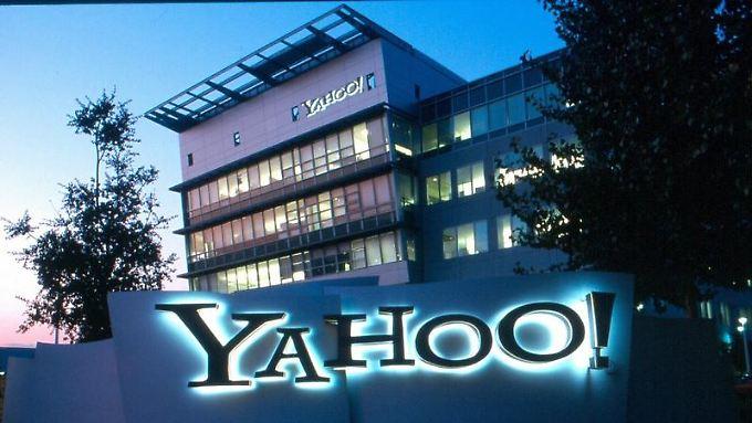 Der Hauptsitz von Yahoo in Sunnyvale (undatiertes Firmenhandout). Der Internet-Konzern Yahoo übertraf noch schlechtere Analysten-Erwartungen.