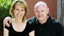 Gabrielle Giffords und ihr Ehemann Mark Kelly.