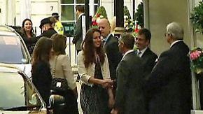 Traumhochzeit steht bevor: William und Kate zeigen sich