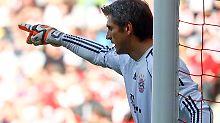Hans-Hörg Butt hängt noch ein Jahr bei den Bayern dran.